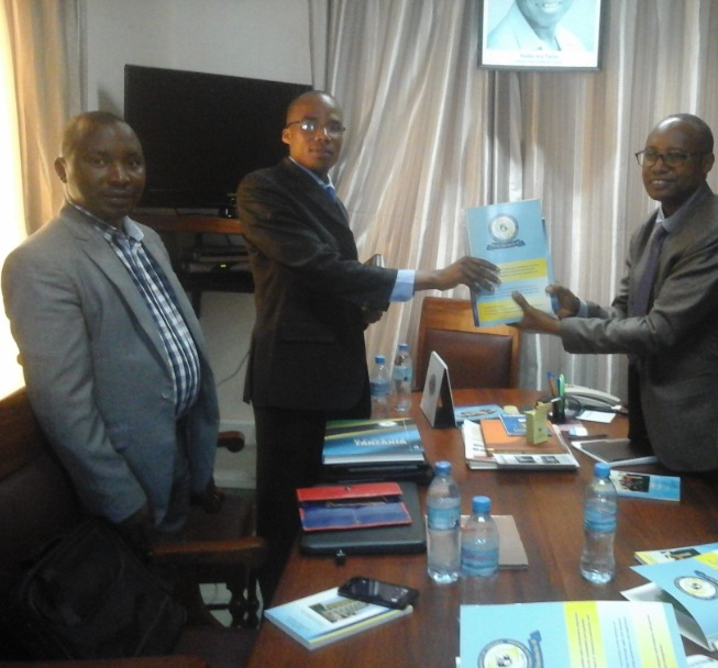 Signing of MOU between DPHU and open university of tanzania
